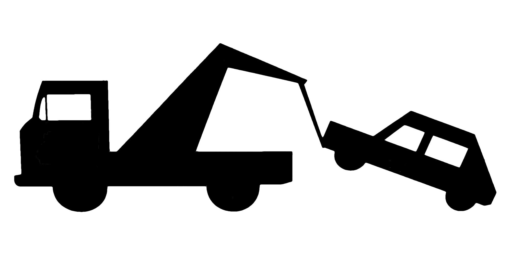 2000x1000 Tow Truck Driver Clip Art Cliparts
