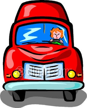 280x350 Truck Driver Clipart
