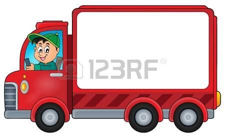 450x276 Clipart Truck Driver
