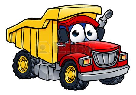 450x313 Dump Tipper Truck Lorry Construction Vehicle Illustration Cartoon