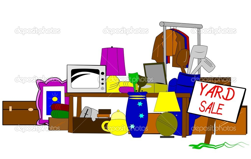 1022x650 Spring Clipart Yard Sale