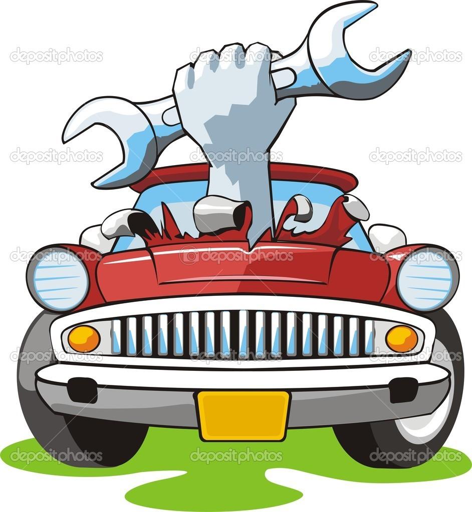 942x1023 Truck Mechanic Clipart