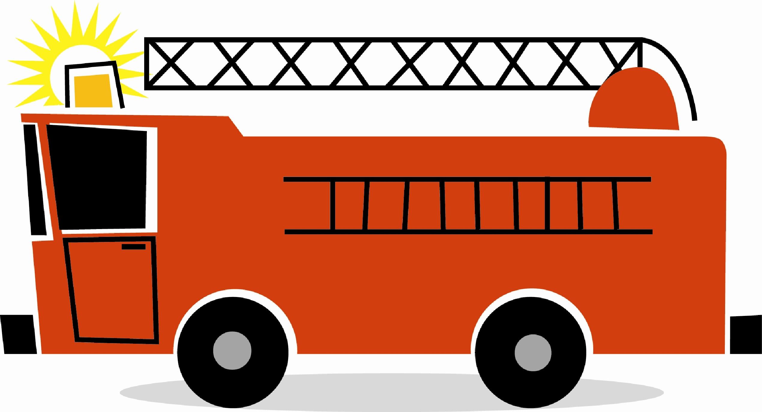 2542x1376 Fire Truck Clipart Clip Art Kid
