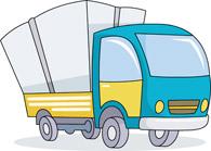 195x139 Free Truck Clipart