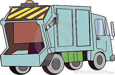 400x261 Garbage Truck Clip Art