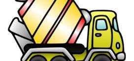 272x125 Cement Clipart Truck