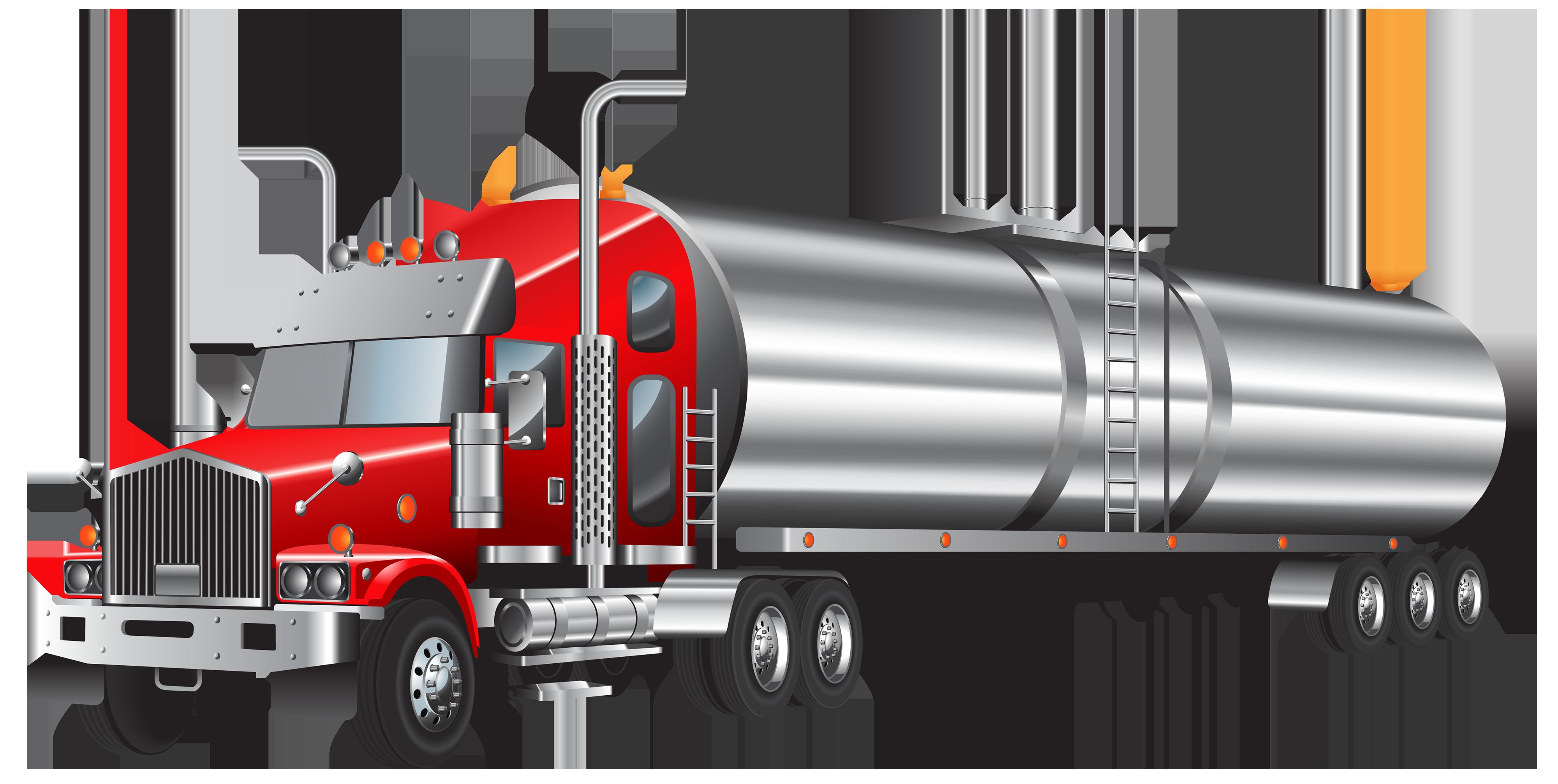 4000x2014 Tank Truck Png Clipart