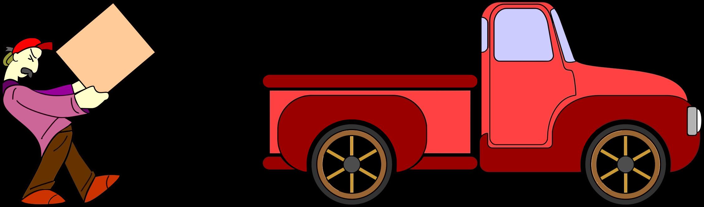 2260x666 Truck Clipart Red Truck