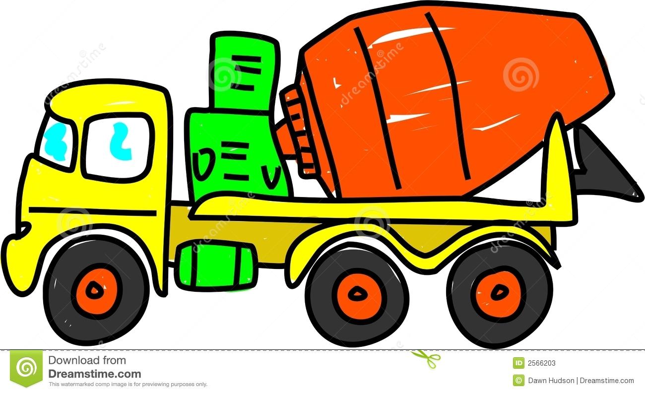 1300x794 Cement Truck Clipart