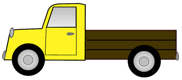 640x283 Clip Art Cartoon Farm Truck Clipart 1950204