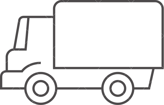 550x353 Truck Outline