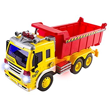 350x350 Electric Dump Truck Construction Toy For Kids