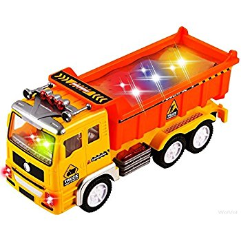 350x350 Wolvol Electric Dump Truck Toy For Kids With Stunning