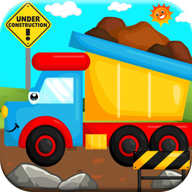 630x630 Big Trucks! Dump Truck Amp Crane Games For Kids Free On The App Store