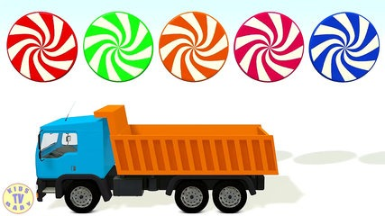 427x240 Learn Colors With 3d Candy Truck For Kids Toddlers Babies