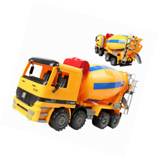 225x225 14 Oversized Friction Cement Mixer Truck Construction Vehicle Toy