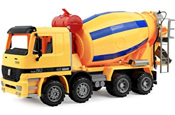 355x233 Click N' Play Friction Powered Jumbo Cement Truck
