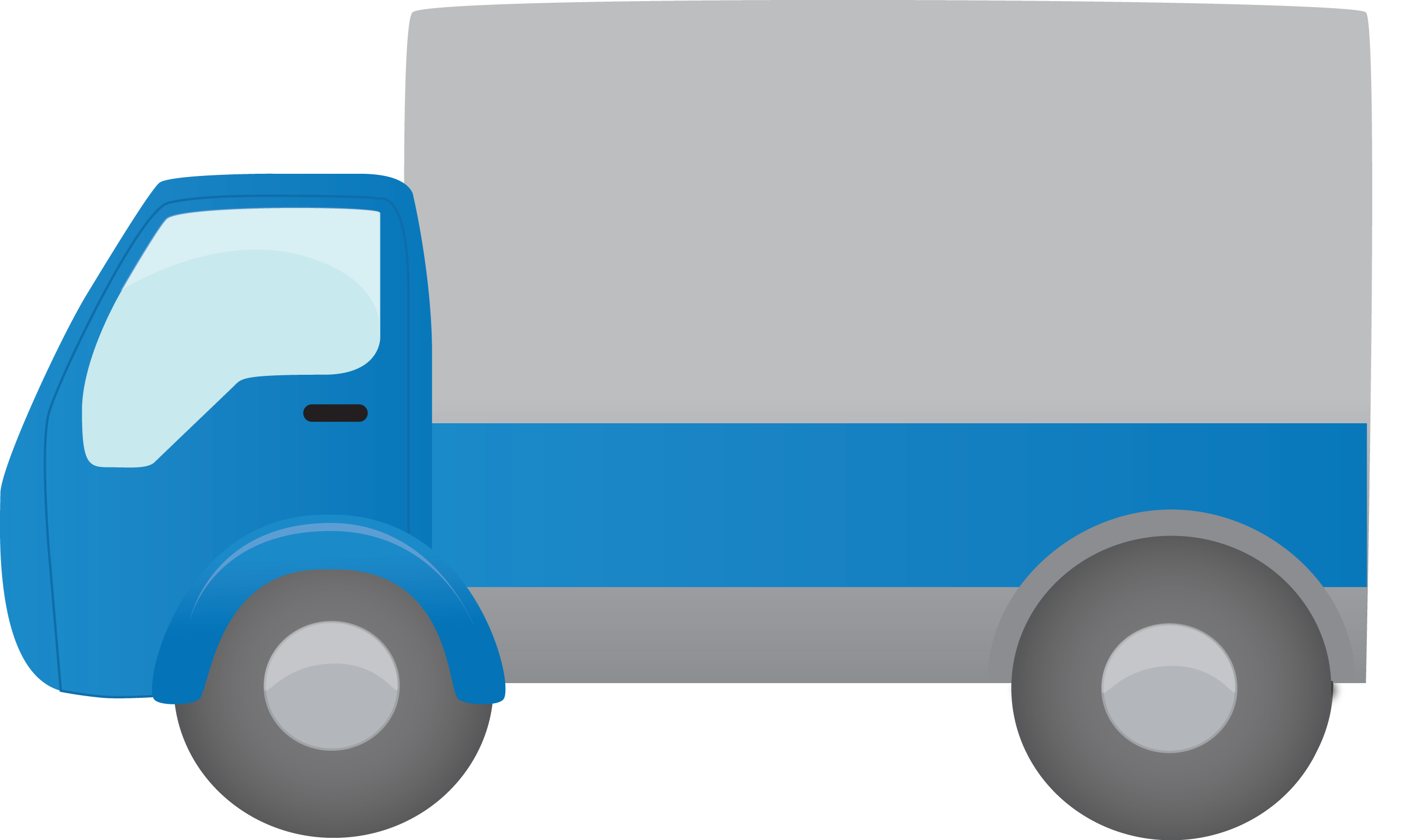 2602x1542 Delivery Truck Png Clipart