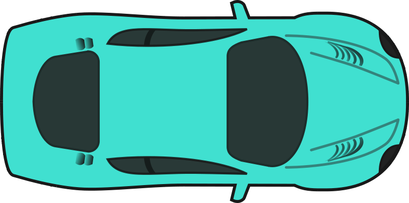 800x397 Top view clipart