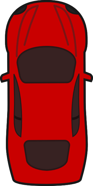 300x600 Truck Top View Clipart ClipArtHut
