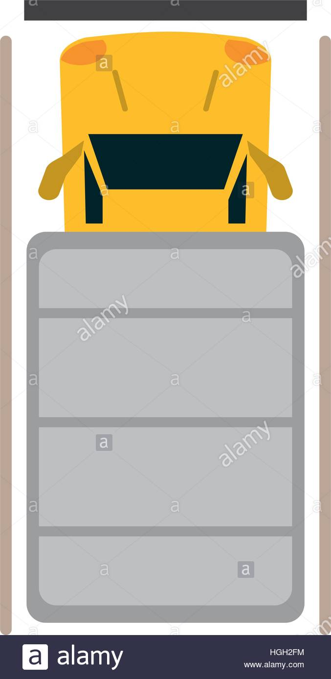 677x1390 Truck Top View Parking Lot Stock Vector Art Amp Illustration, Vector