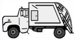 246x134 Free Garbage Truck Truck Clipart