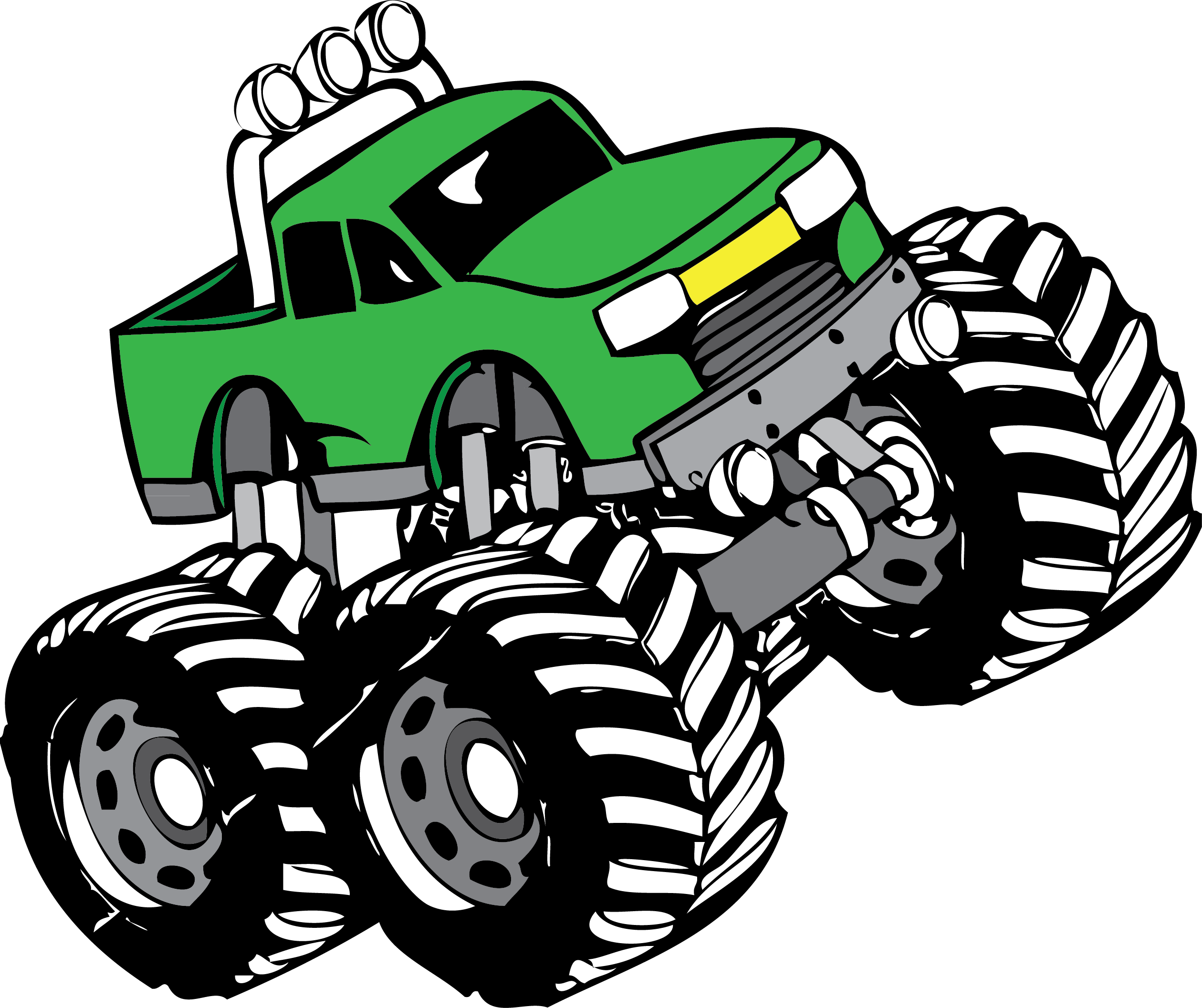 2519x2113 Monster Truck Clip Art Pictures Free Clipart Images