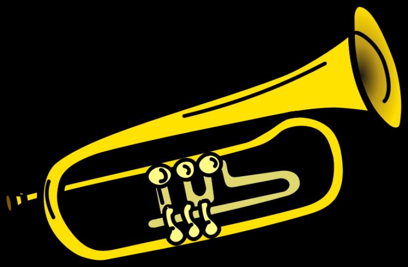 820x538 Trumpet Notes Clipart Clipart Kid30 Png Clip Art Trumpet High Quality