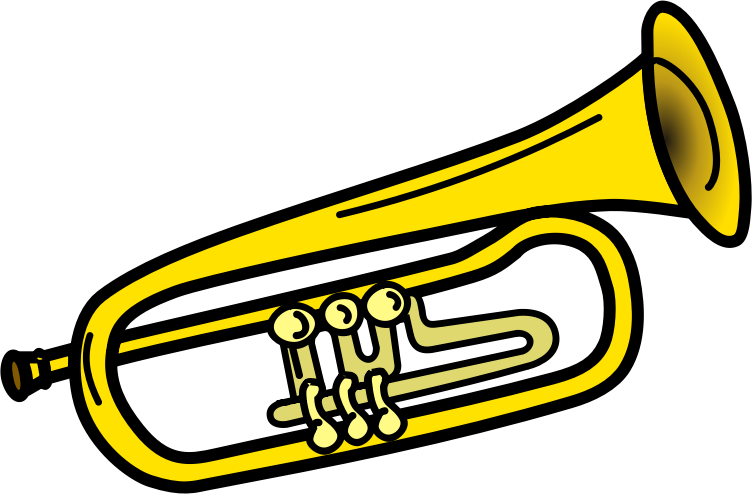 752x494 Free Trumpet Clipart Image