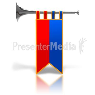 400x400 Medieval Clipart Trumpet