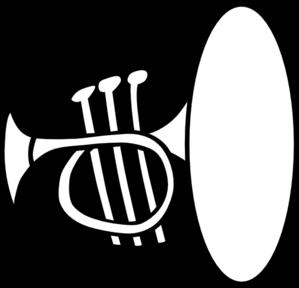 299x288 Silly Trumpet Clip Art
