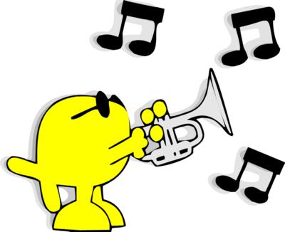400x326 Trumpet Clip Art Pictures Free Clipart Images