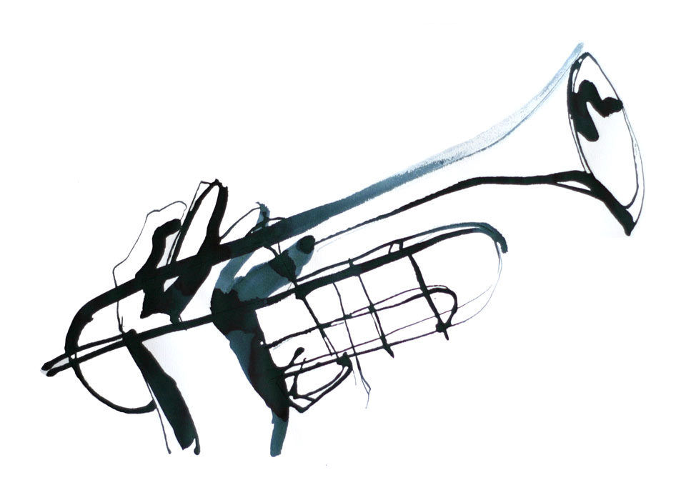 960x700 Trumpet Player