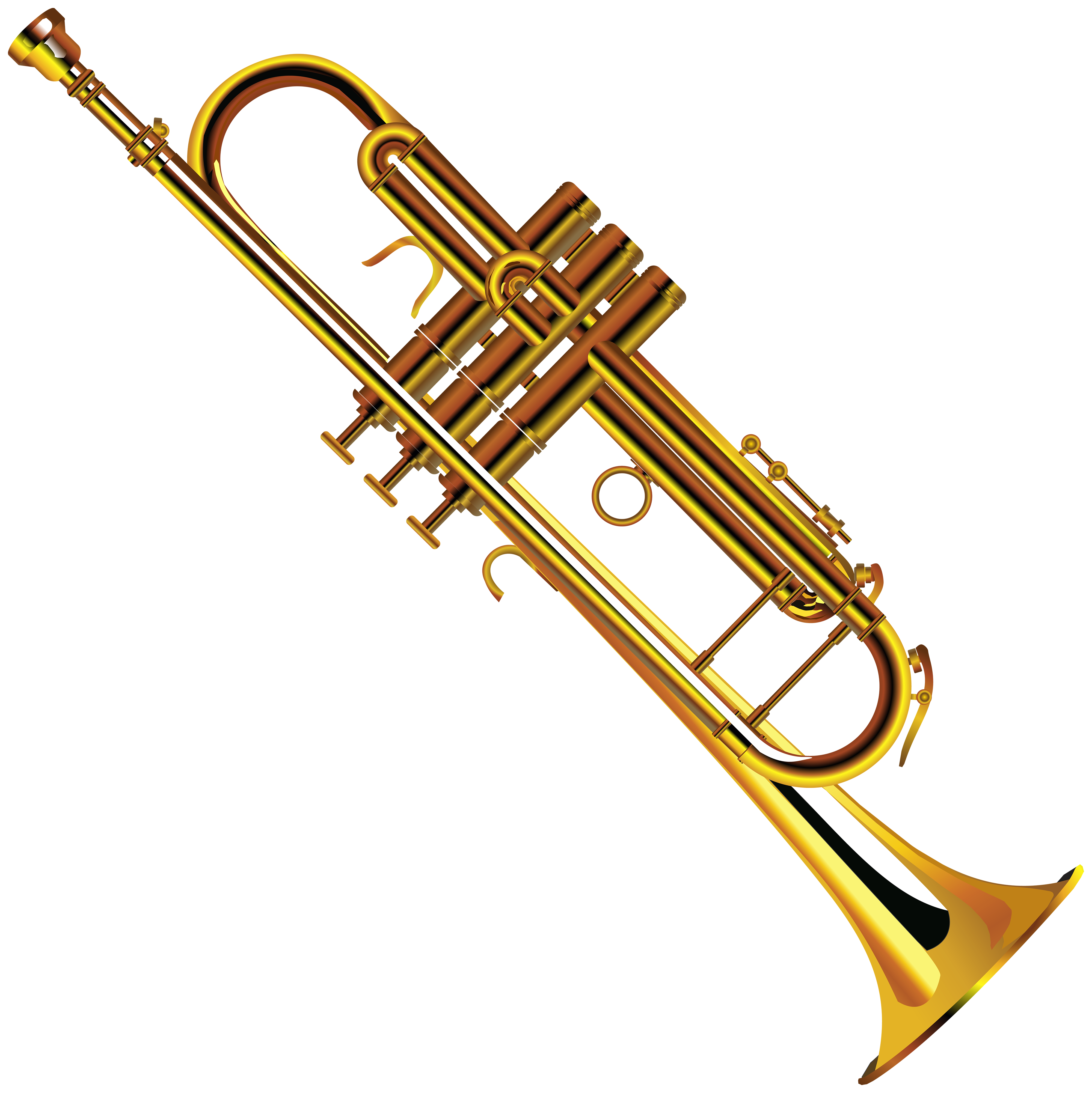 4000x4005 Winnie The Pooh Playing Trumpet Clip Art Web Clipart Famclipart 2