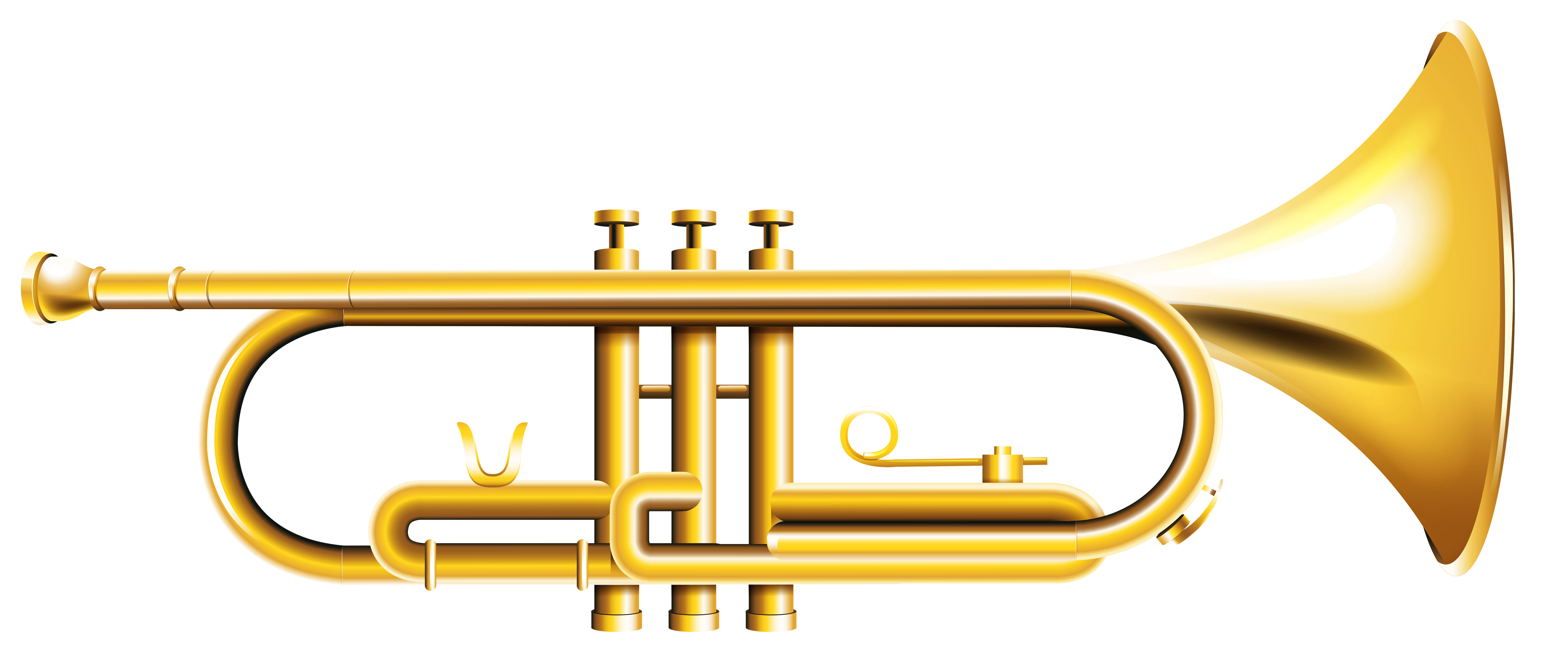 5106x2134 Trumpet Transparent Png Clipartu200b Gallery Yopriceville
