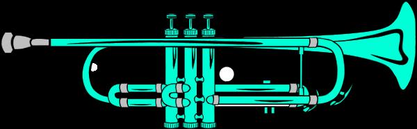 600x186 Trumpet Clip Art Vector Clip Art