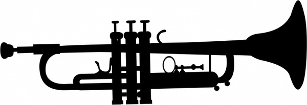 600x206 Trumpet Vector Image Free Download Free Vector Download (69 Free