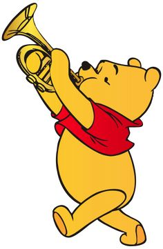 236x361 Winnie The Pooh Playing Trumpet Png Clip Art Disney Clipart