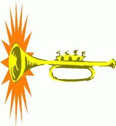 236x256 Music Clipart, Trumpet Clip Art Music Clipart