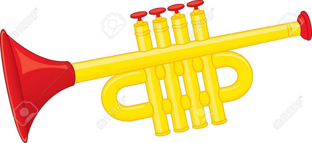1300x597 Trumpeter Clipart Sr019 Cartoon Horn Clip