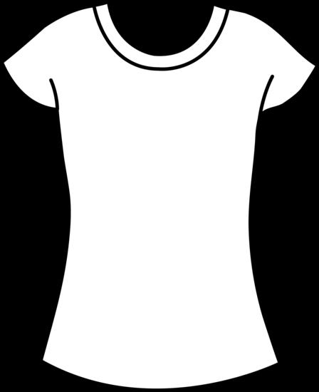 448x550 Womens T Shirt Template Free Clip Art Women's T Shirt Template