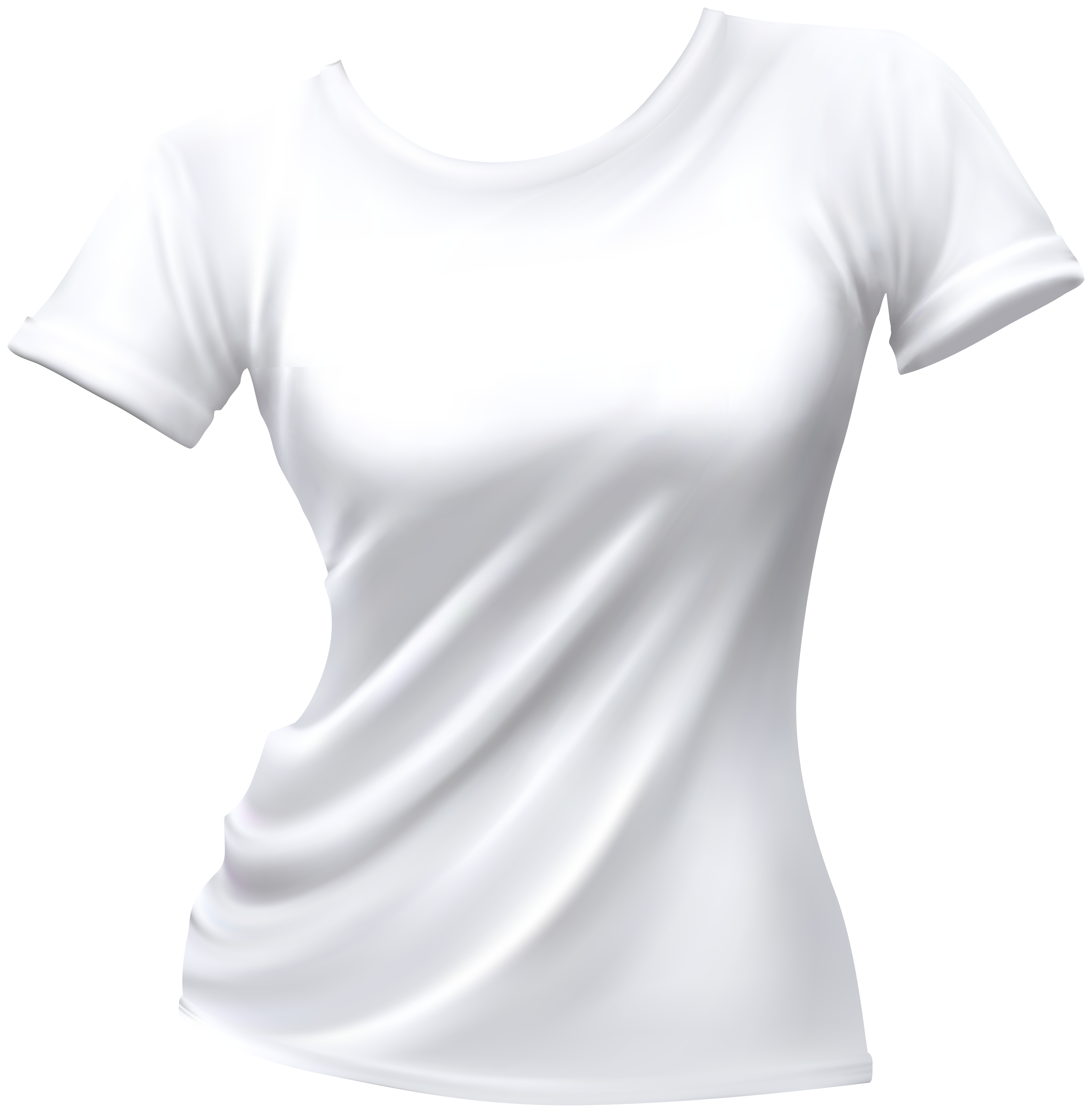 6867x7000 Female T Shirt White Png Clip Art