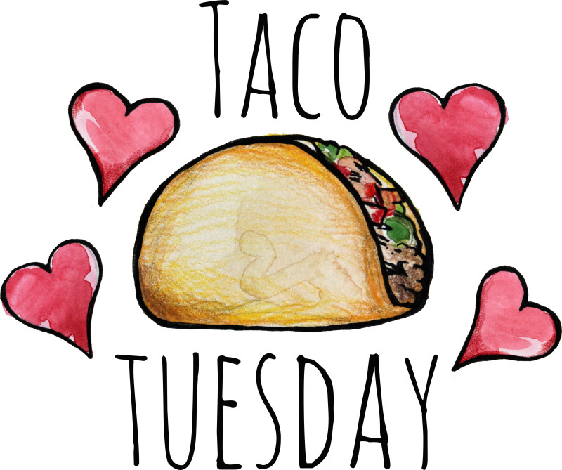 Collection of Taco tuesday clipart   Free download best Taco ...