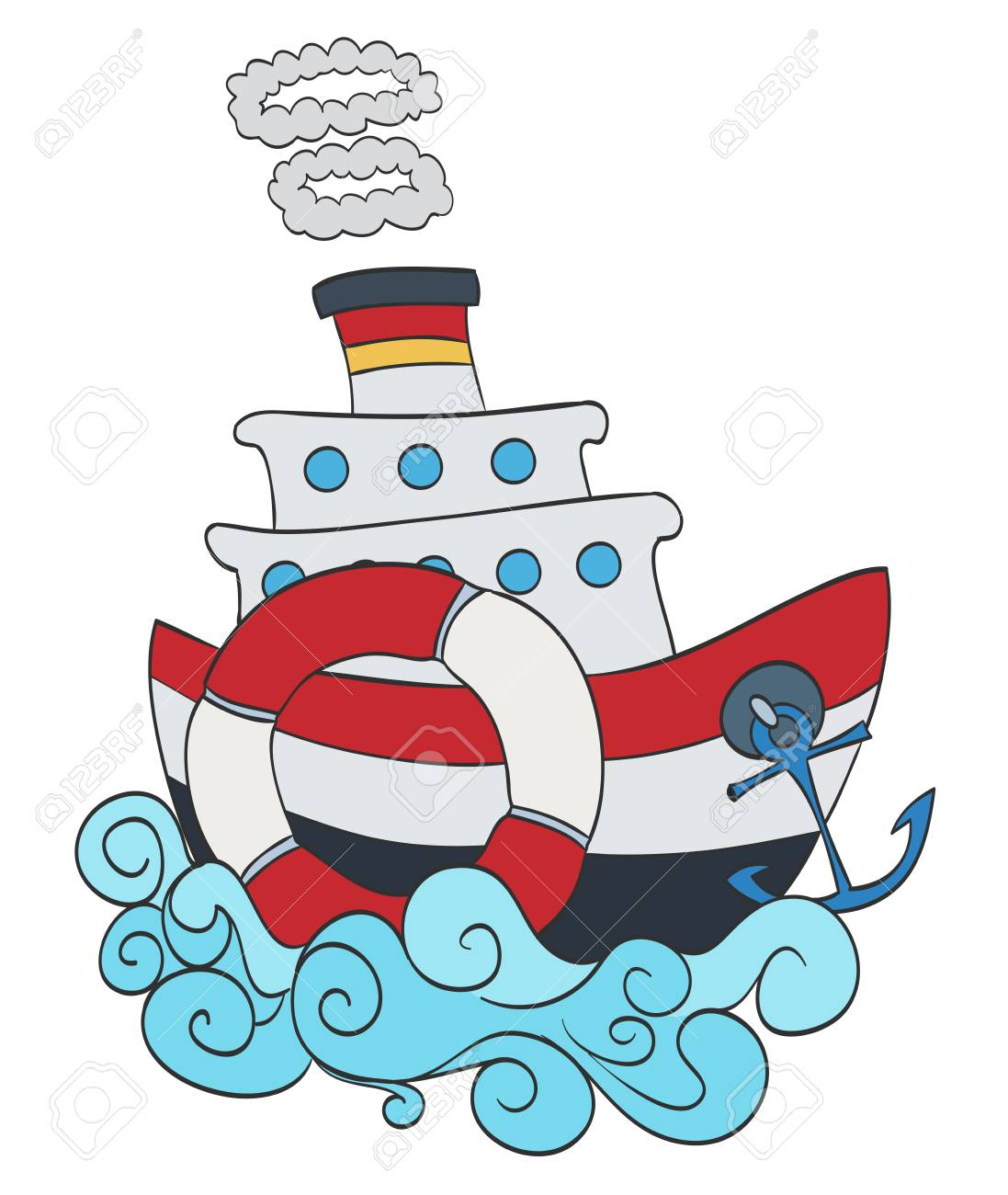 1097x1300 1,963 Steamship Stock Illustrations, Cliparts And Royalty Free