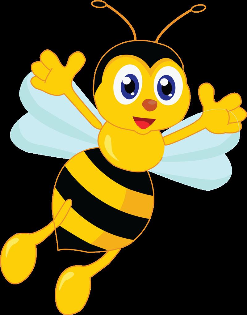 800x1019 Free Bee Clip Art