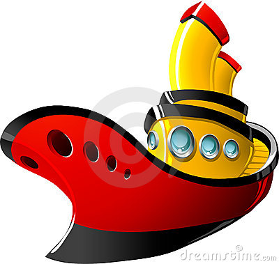 400x379 Tugboat Clipart