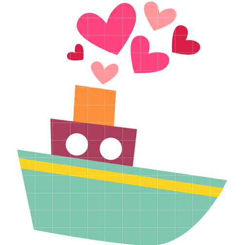 504x504 Tugboat Illustrations Clipart ClipArtHut