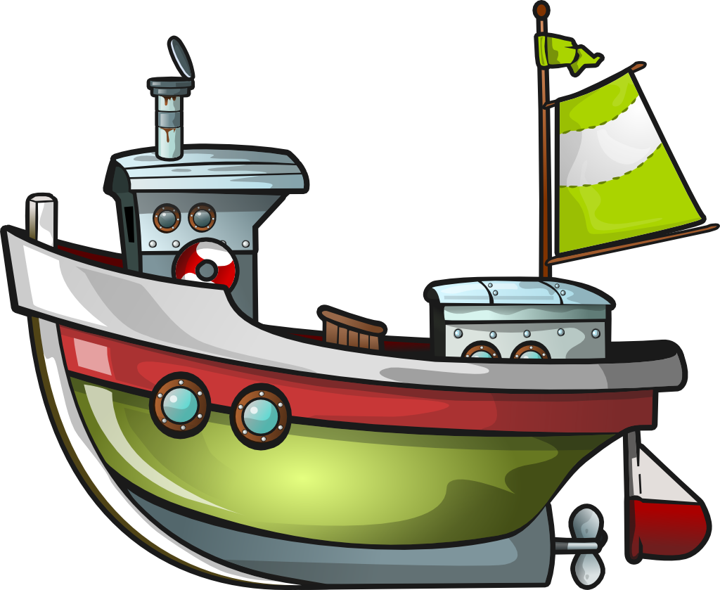 1024x839 Tugboat clipart fishing boat