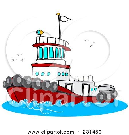 450x470 Tugboat Clipart Tug