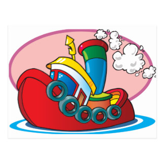 324x324 Cartoon Tugboat Gifts